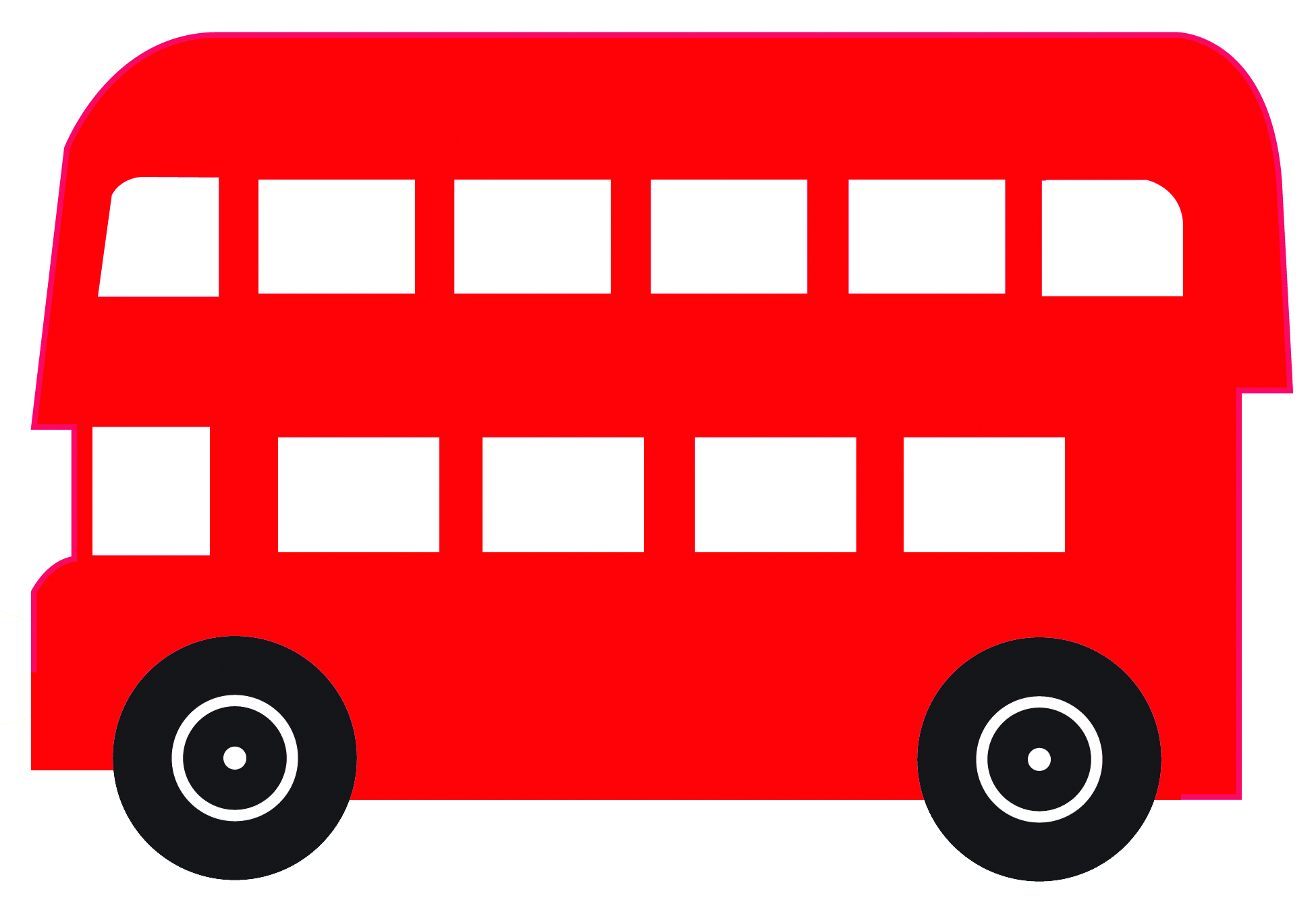 Red bus clipart 6 » Clipart Station.