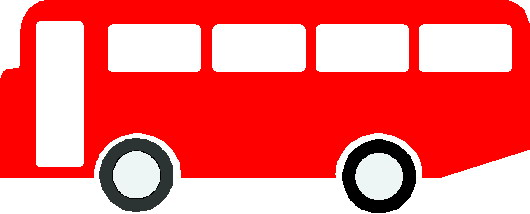Red Bus Clipart.