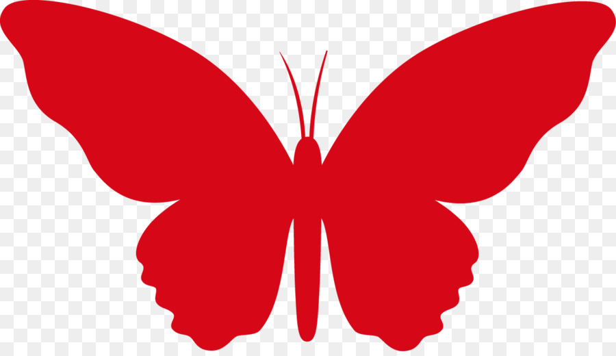 Red butterfly clipart 3 » Clipart Station.