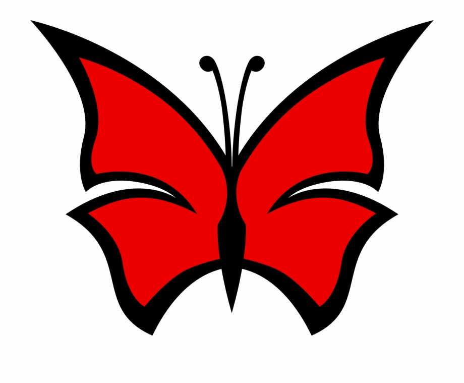 Clipart Red Butterfly Cliparts Free Download Clip Art.