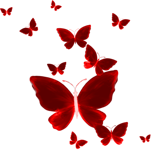 HD #ftestickers #butterfly #red #butterflies #freetoedit.