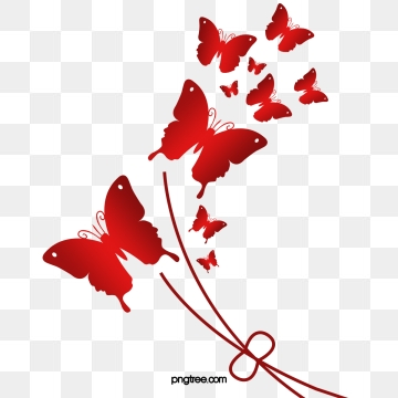 Red Butterfly Png, Vector, PSD, and Clipart With Transparent.