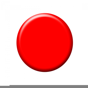 Free Clipart Red Button.