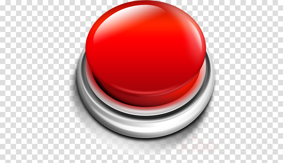 Download red button transparent clipart Button Clip art.