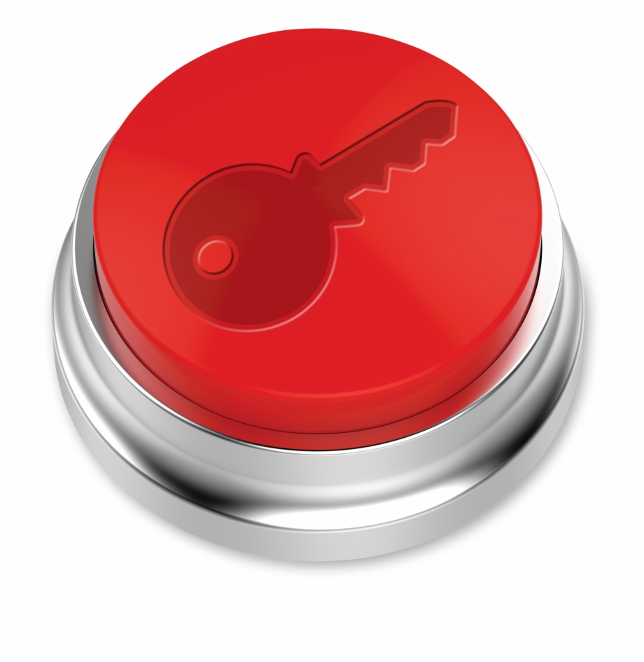 Red Button Clipart , Png Download.