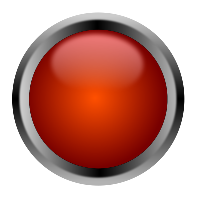 Free Clipart: Red Button.