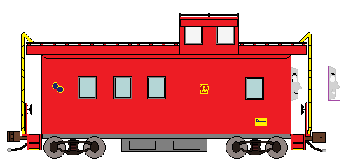 Caboose clipart little red caboose.