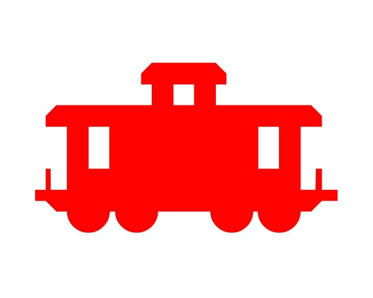 Red caboose clipart 1 » Clipart Portal.
