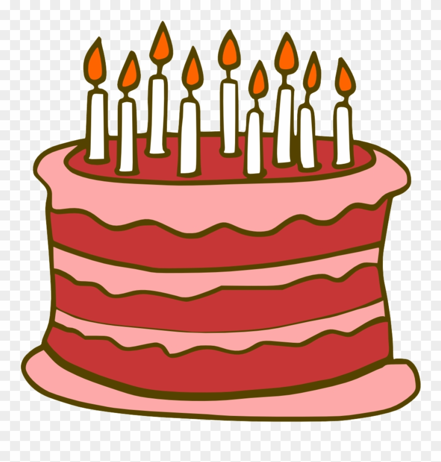 Free Birthday Cake Png Transparent Images, Download.