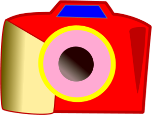 Red Camera Clipart.