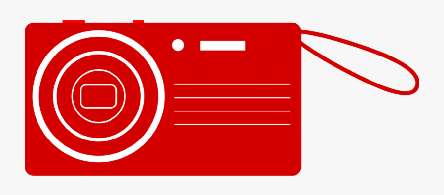 Red Camera Clip Art , Free Transparent Clipart.