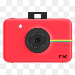 Polaroid Snap Camera Red PNG and Polaroid Snap Camera Red.
