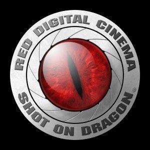 RED Shot on Dragon Logo.