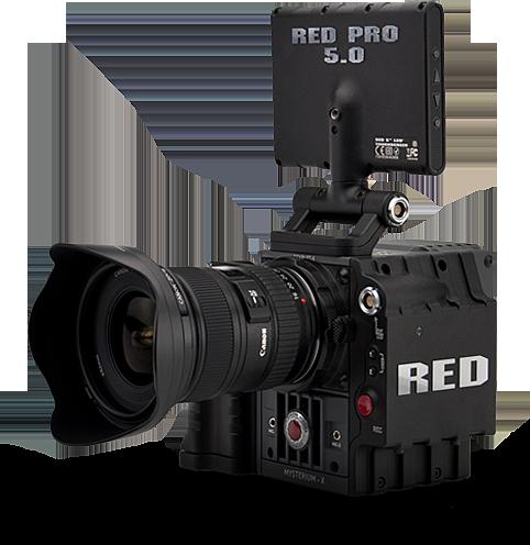 Red Scarlet X kit.