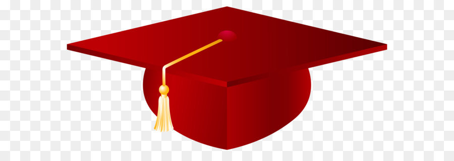 Red Graduation Cap Clipart.