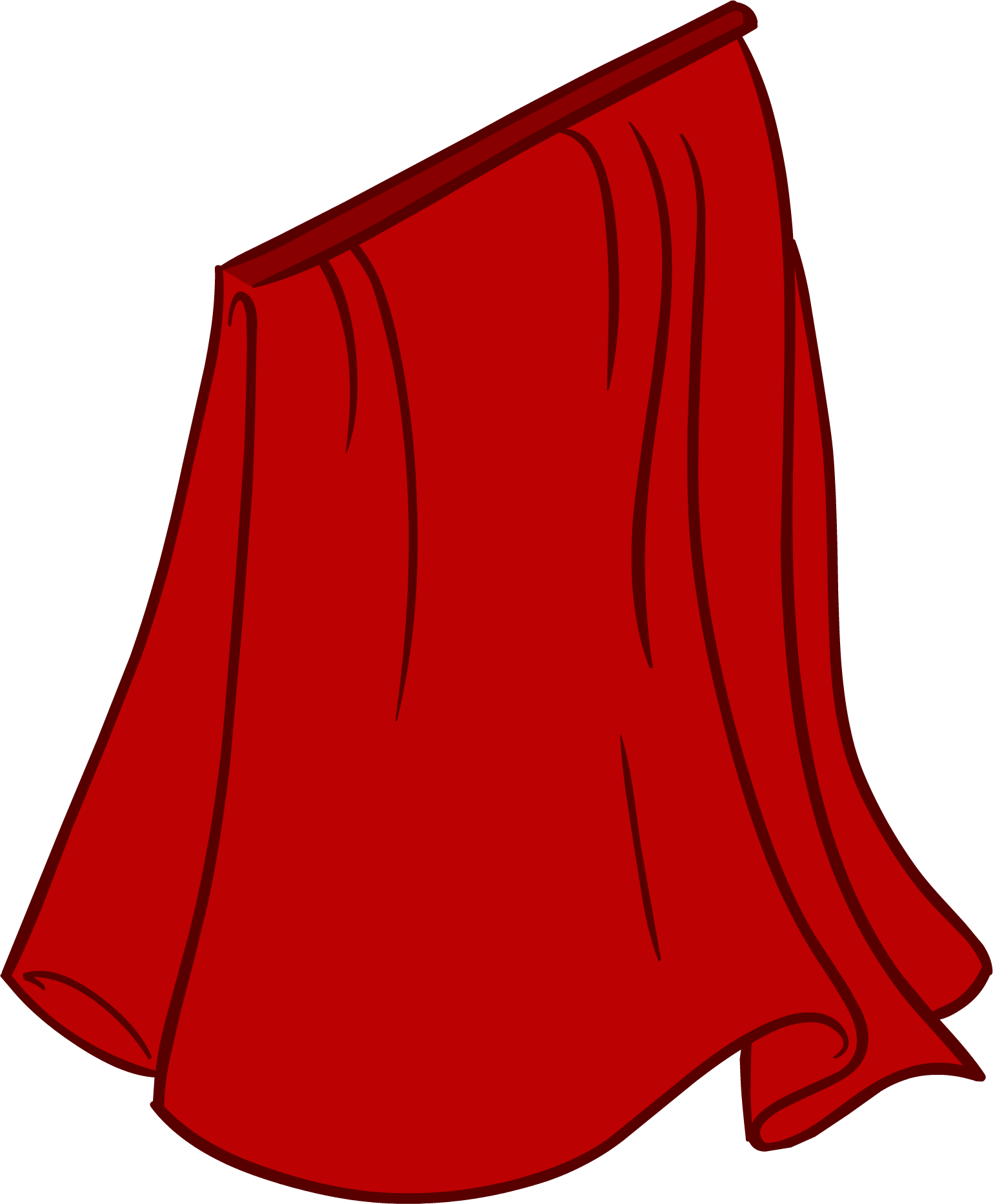 Cape clipart cartoon red, Cape cartoon red Transparent FREE.