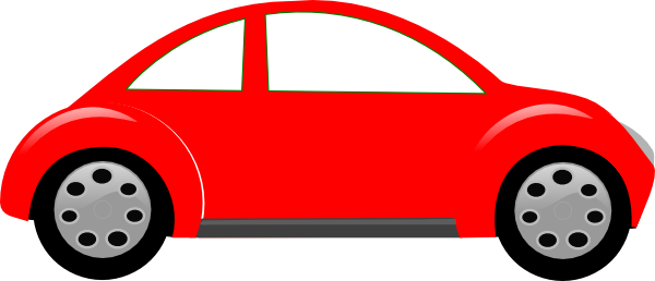 Red Car Clipart.