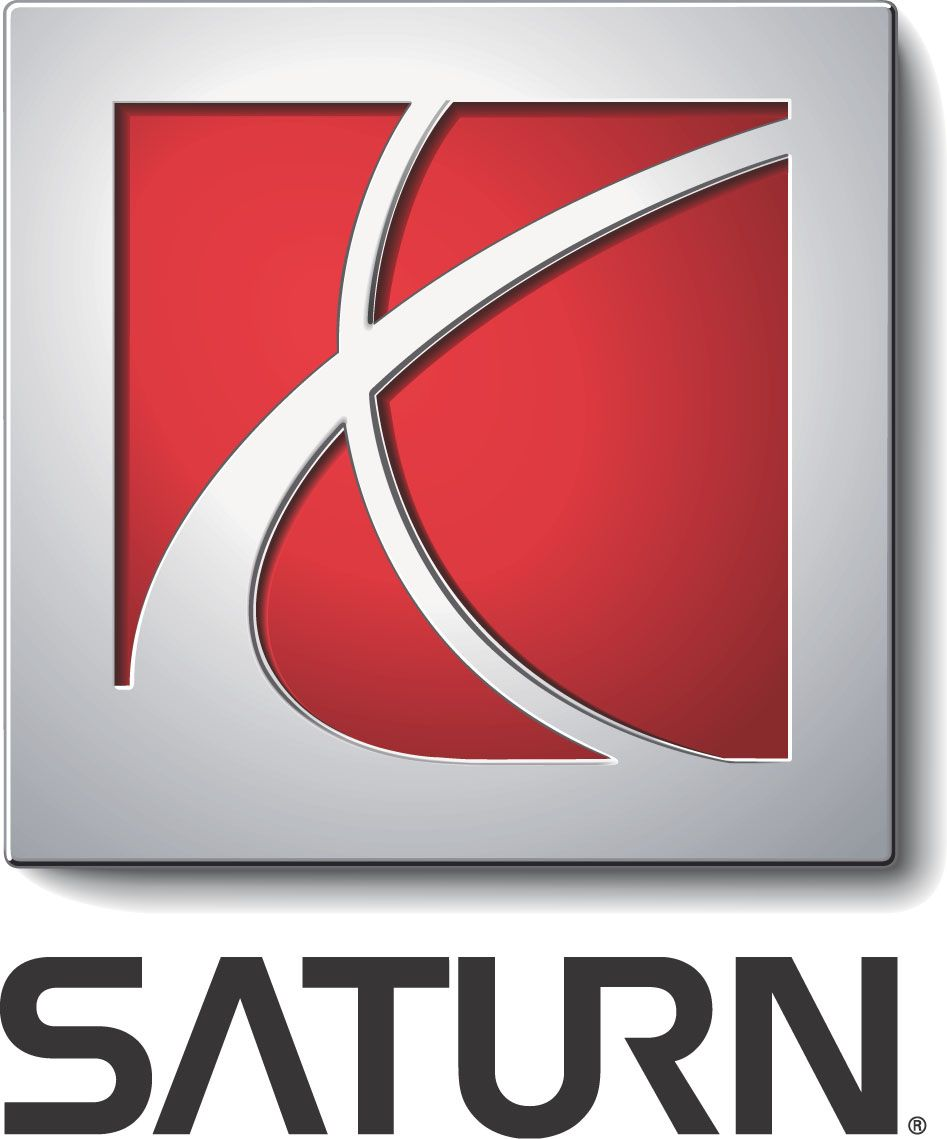 saturn car logo.