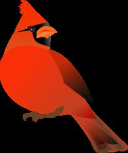 Red Cardinal Clip Art at Clker.com.