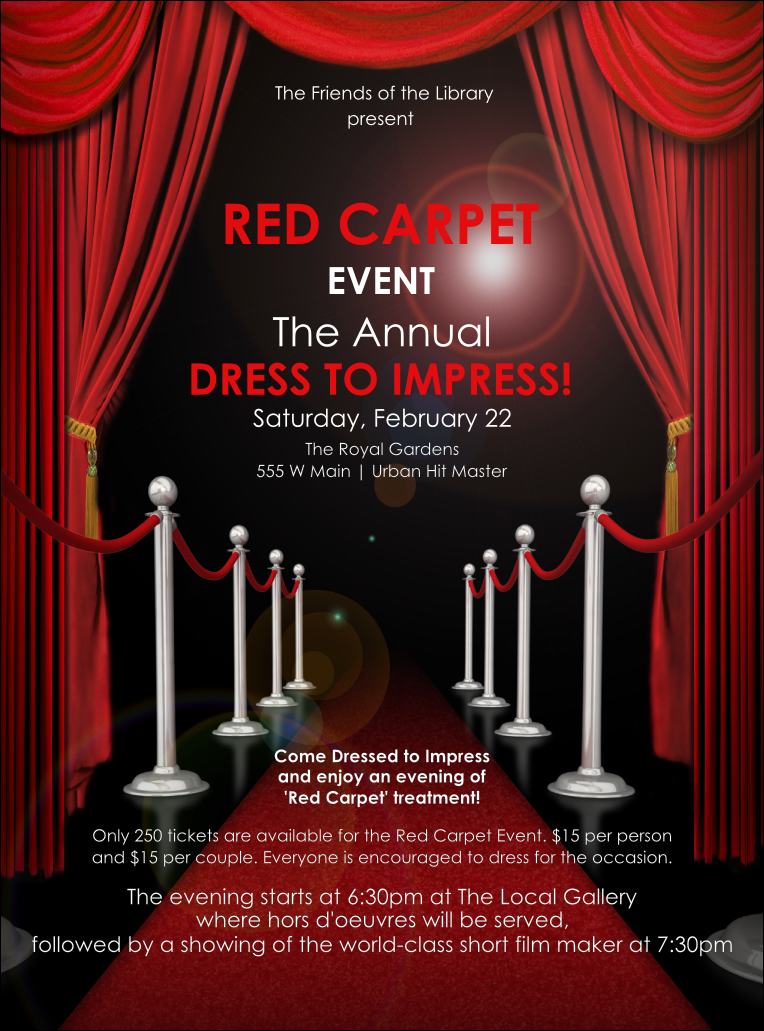 film premiere invitation template - red carpet berry clipart clipground