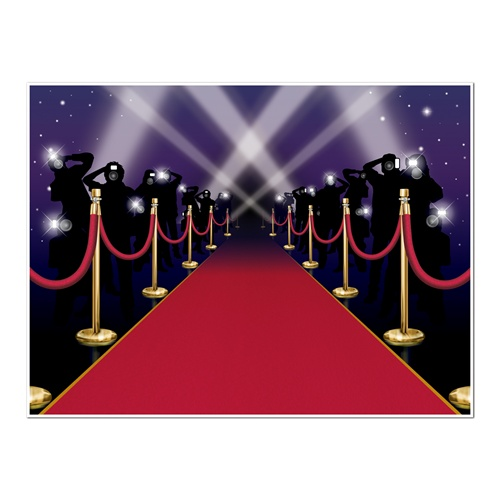 Red Carpet Camera Flashes.