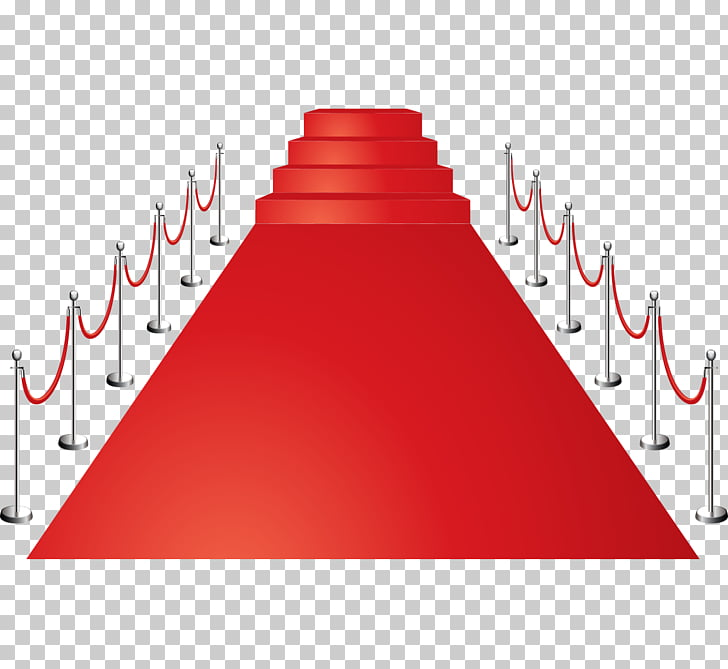 Red carpet Euclidean , red red carpet stairs fence PNG.