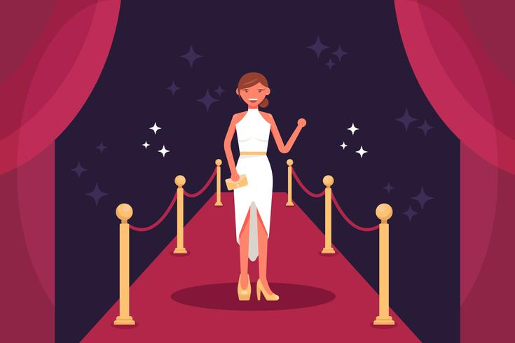 Hollywood Red Carpet Vectors.