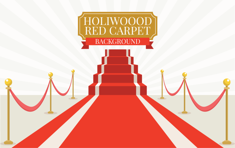 Red Carpet Free Vector Art.