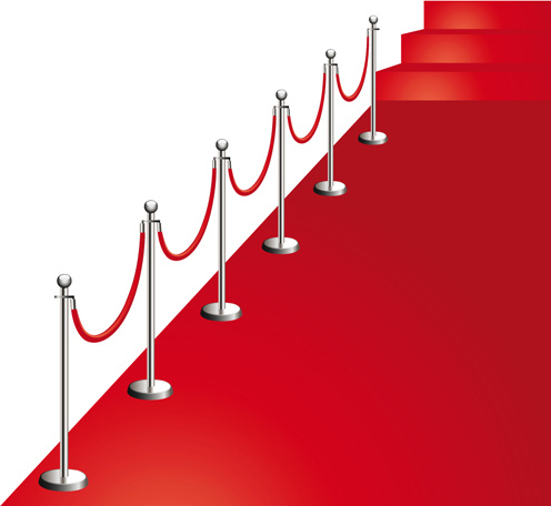 Noble red carpet vector set Free vector in Encapsulated.