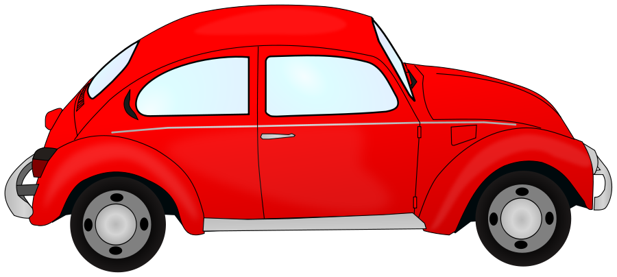 Red car image Clipart.
