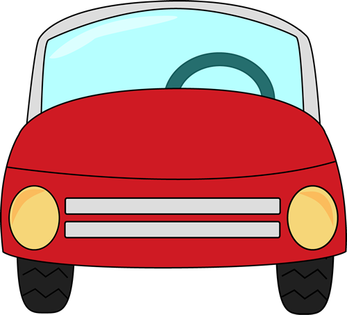 Red Car Clip Art.
