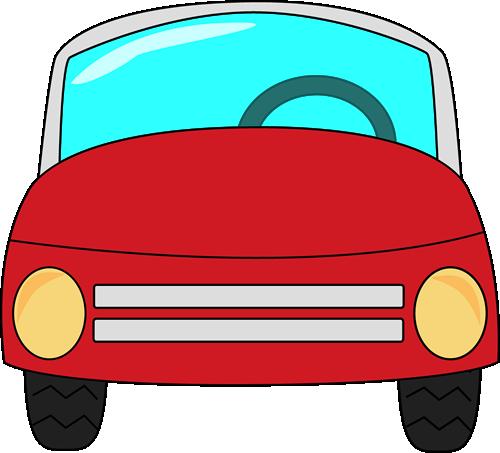 Red Car Clip Art.