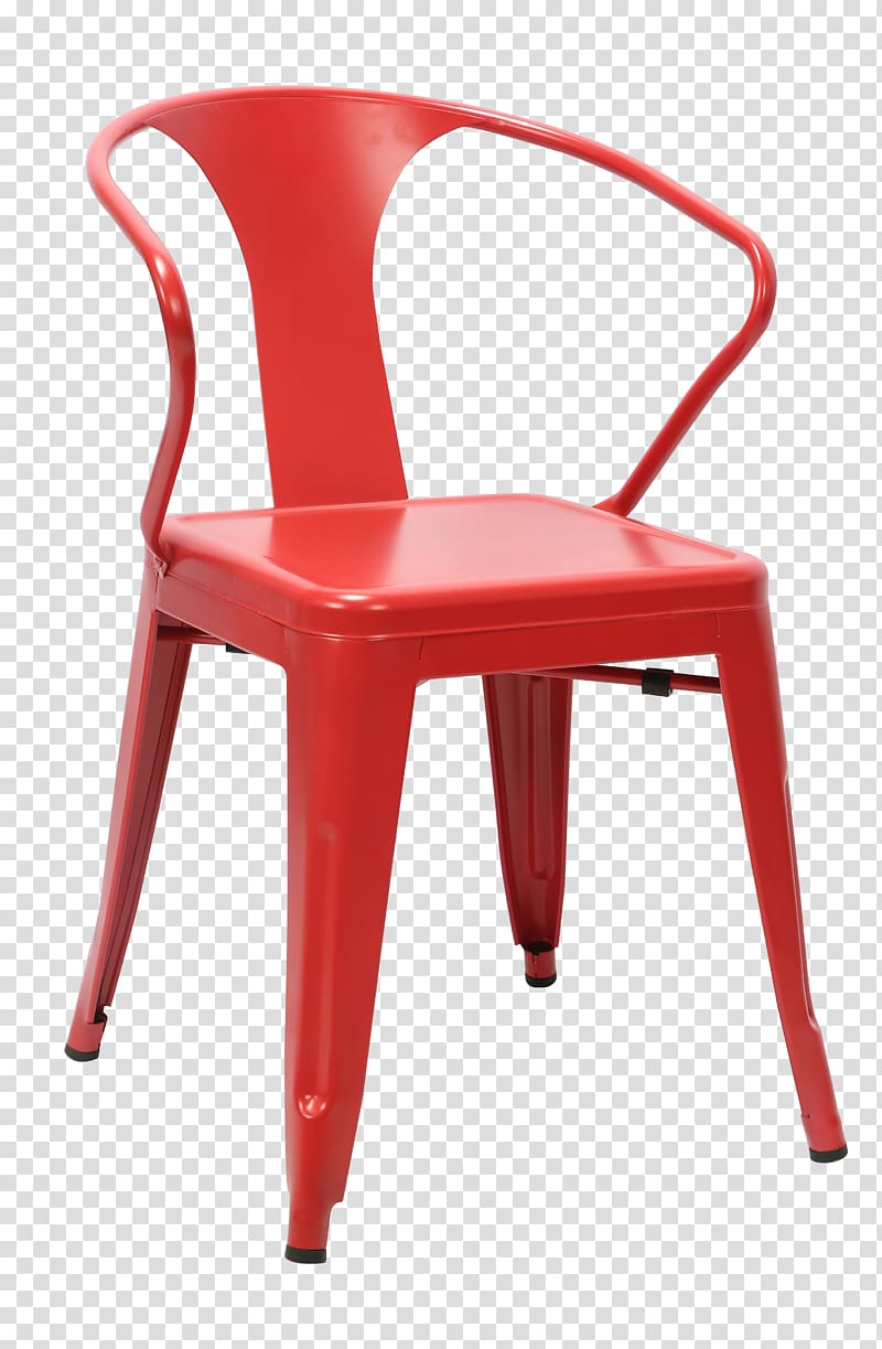 Table Chair Dining room Furniture Bar stool, Red plastic.