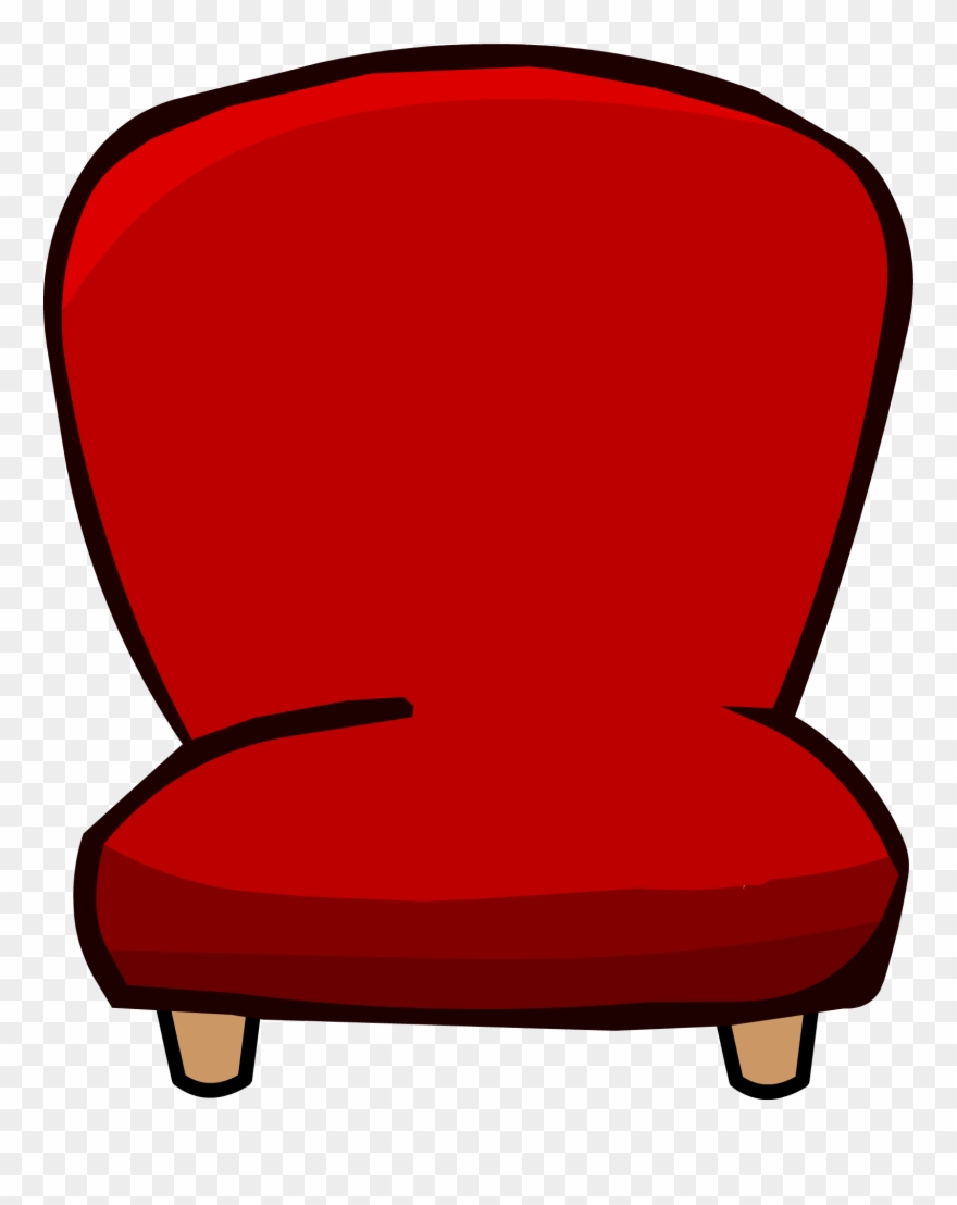 Clip Art Transparent Download Image Red Chair Png Penguin.
