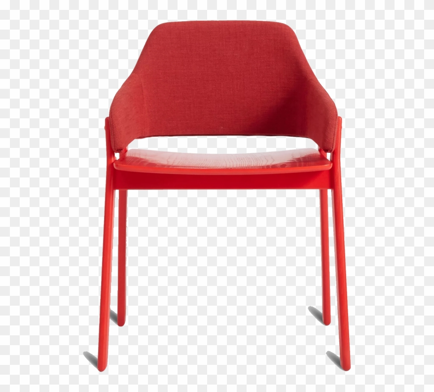 Blu Dot Red Chair.