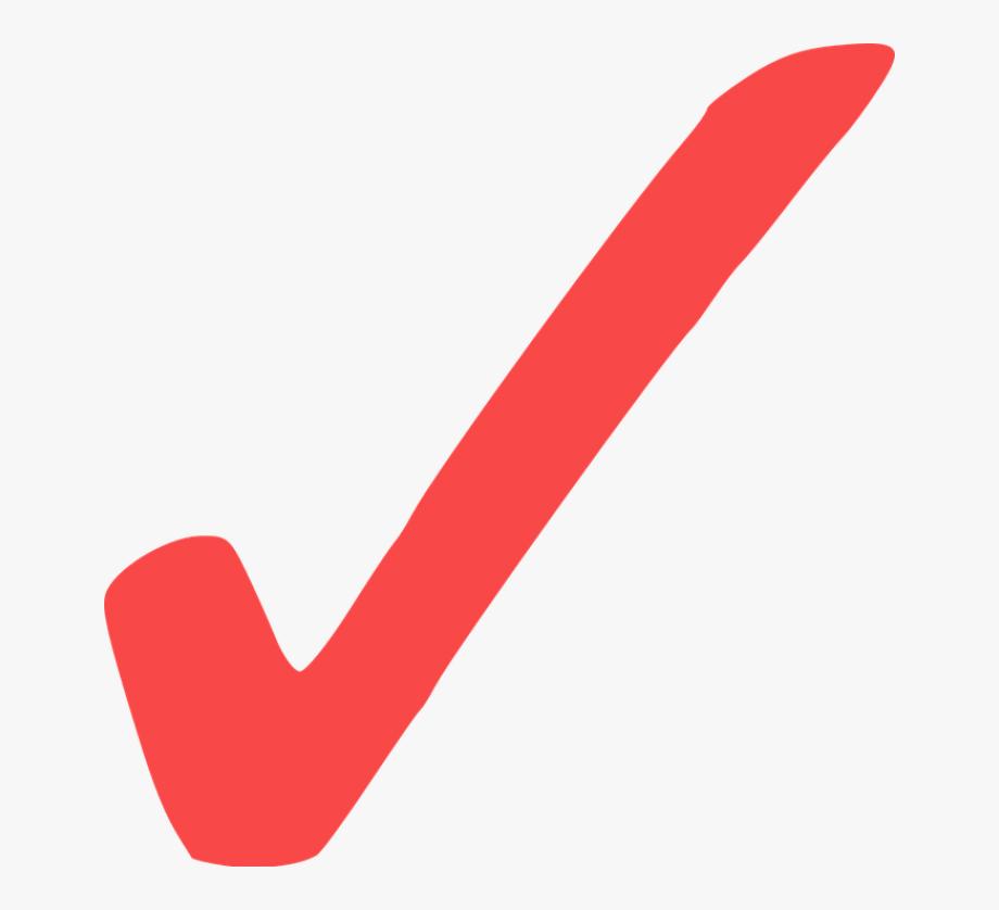 Red Check Mark Icon at Vectorified.com.