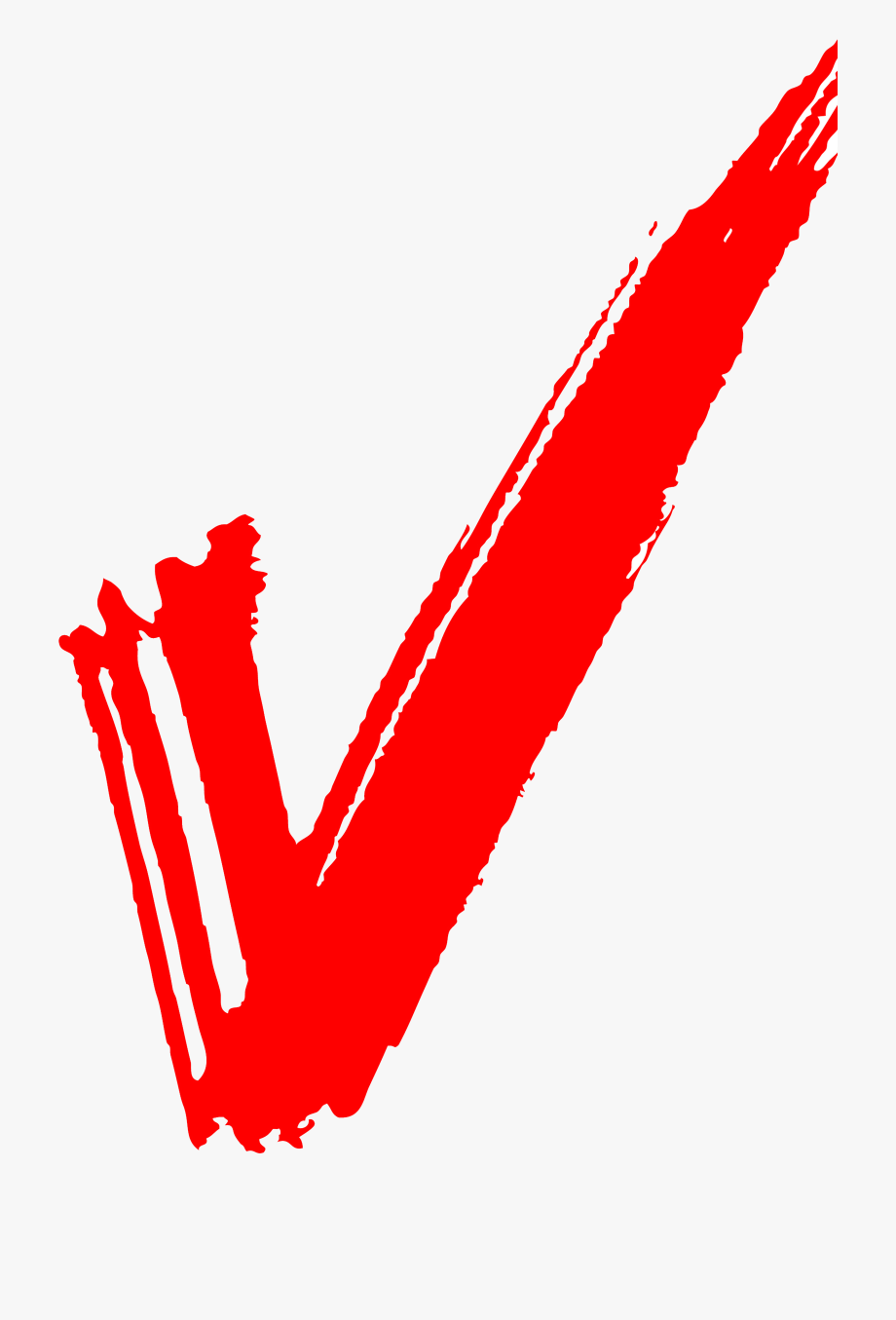 Checkmark Clipart Red.