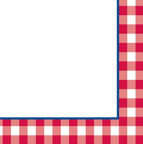 Checkerboard Border Clipart.