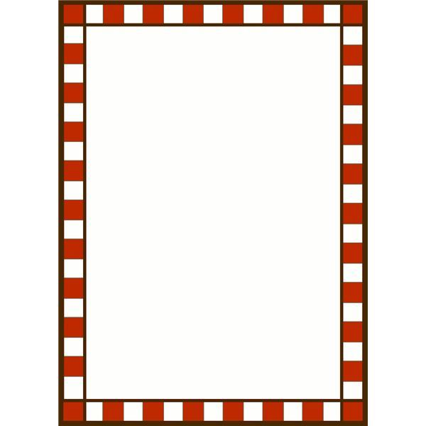RED AND WHITE CHECK.