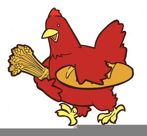 Free Clipart Red Hen.