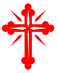 Red Christian Cross Clipart.