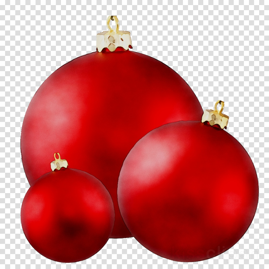 Red Christmas Ball clipart.