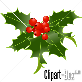 Christmas berries clipart png.