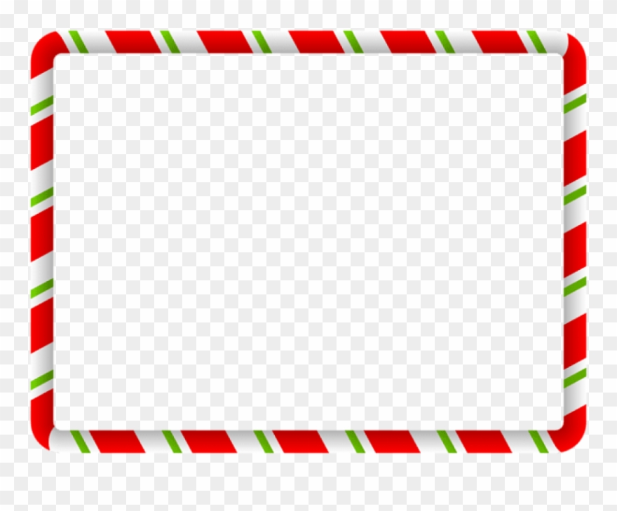 Christmas Border Green Red Png.