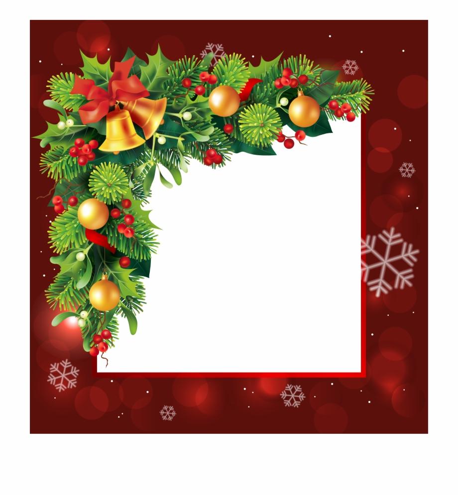 Frame Png Border For Christmas.