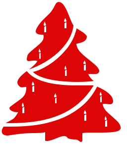 Free Red Christmas Clipart.
