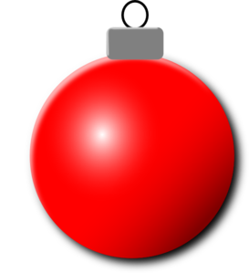 Red Christmas Ornament Clip Art at Clker.com.