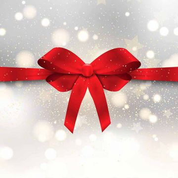 Christmas Ribbon Png, Vector, PSD, and Clipart With.