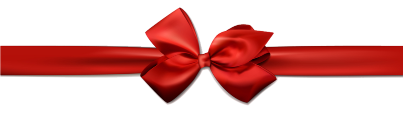 Download Free png Red Christmas Ribbon Transparent Images.