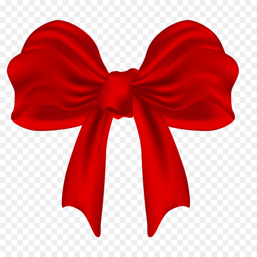 Red Christmas Ribbon png download.